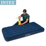 【INTEX】單人加大植絨充氣床墊-寬99cm (68757)