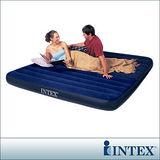 【INTEX】雙人超大型植絨充氣床墊(寬183cm) (68755)