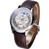 ORIS 新藝術家月相皮帶腕錶58175924051LS