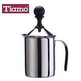 Tiamo 單層濾網 不鏽鋼奶泡杯 400ml (HA1508)