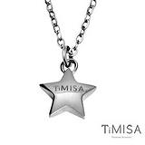 【TiMISA】幸運星 Lucky Star 純鈦項鍊(E) )雙色可選