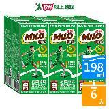 美祿巧克力牛奶麥芽飲品198ml*6入