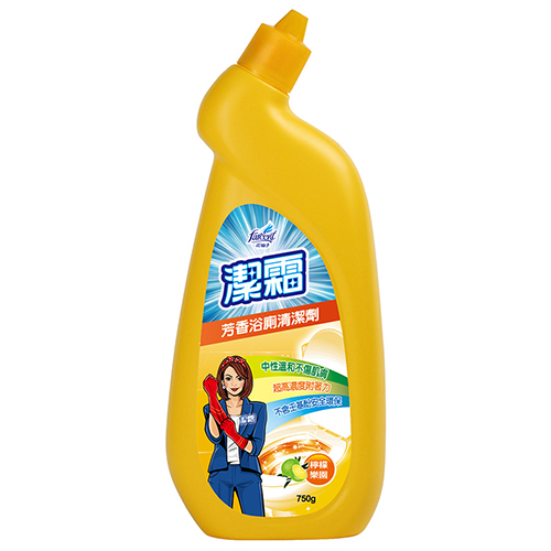 潔霜芳香浴廁清潔劑-檸檬750ml