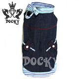 Docky-超激瘦腸仔裙-沁水藍