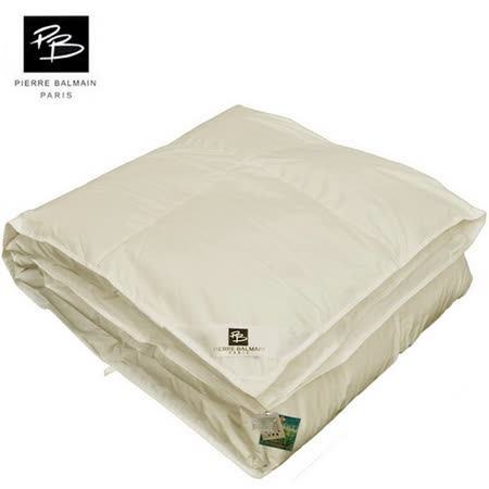 PB皮爾帕門-100%純棉立體95/5羽絨被-雙人 -friDay購物