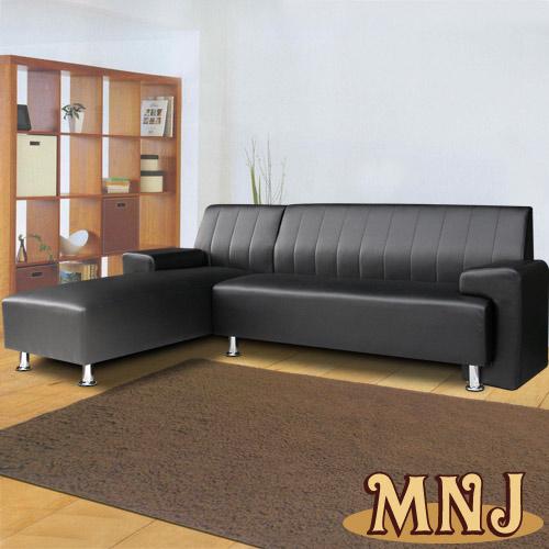 台灣製造 清新簡約L型獨立筒沙發