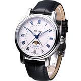 EPOS 月相多功能 機械時尚錶3391.832.20.20.25白
