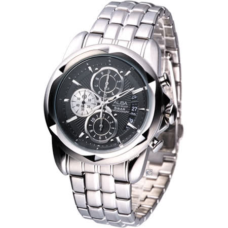 ALBA FLAGSHIP 羅馬戰士 計時腕錶YM92-X189D/AF8P11X