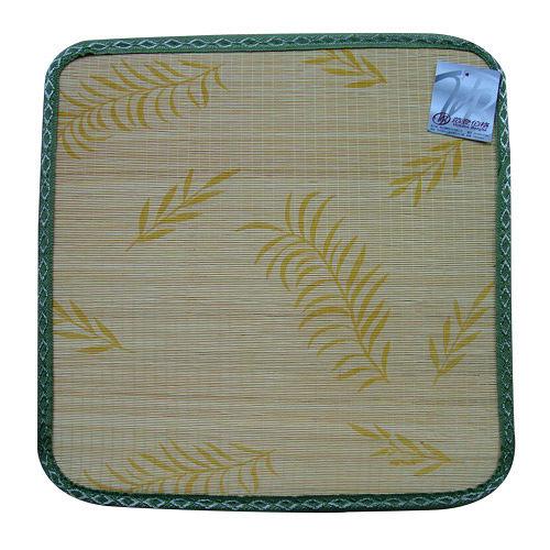 【范登伯格】艾蒙★天然色織印花竹子坐墊-米-四入一組