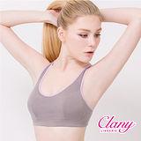 【可蘭霓Clany】天絲棉涼感無鋼圈M-XL胸衣(低調灰 6390-62)