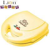 【(福利品)獅子心 LION HEART】圓型厚片鬆餅機 / 點心機 /  LWM-118