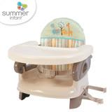 【原廠公司貨】美國 Summer Infant 可攜式活動餐椅 - 綠咖啡色