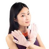 [SNOW TRAVEL] 抗UV止滑休閒手套(冰涼降溫科技材質)(粉紅)