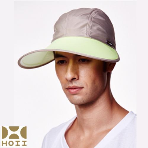 保證原廠【HOII】防曬【棒球寬版帽】UPF50+(黃光)【后益先進光學】