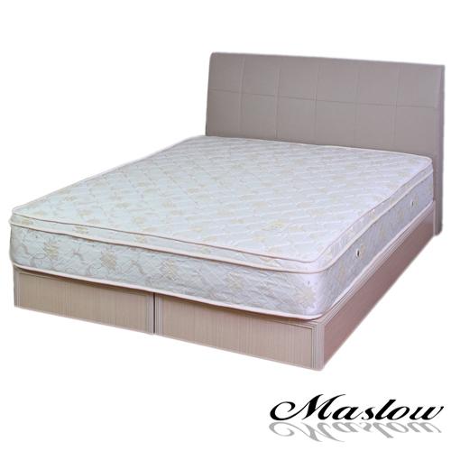 【Maslow-格調混搭】雙人床組-5尺(不含床墊)