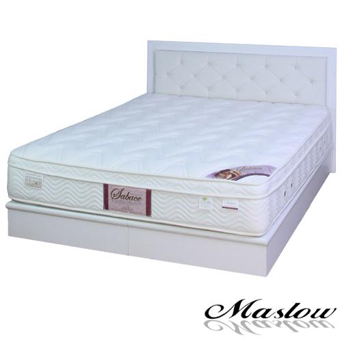 【Maslow-白色宮廷】加大床組-6尺(不含床墊)