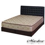 【Maslow-時尚格調】雙人床組-5尺(不含床墊)-黑
