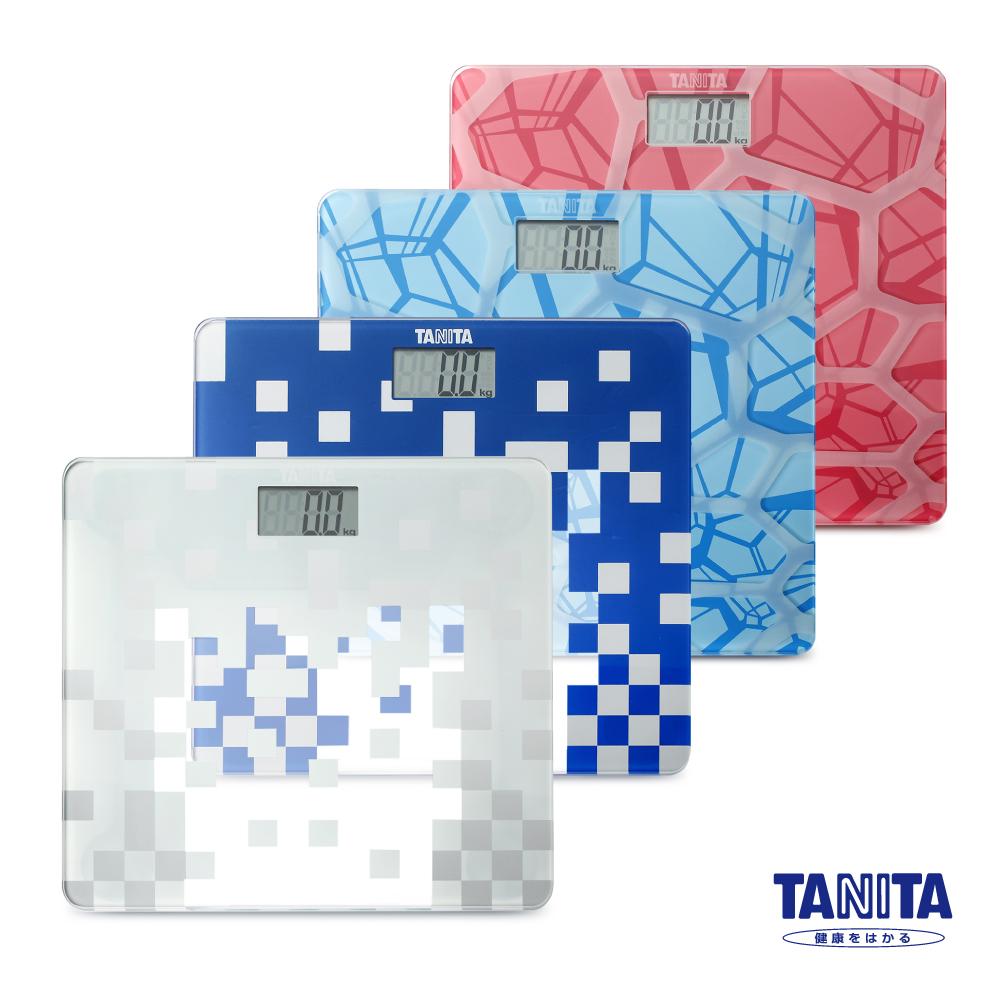 日本TANITA時尚超薄電子體重計HD-380-四色