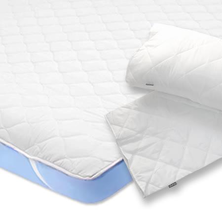 義大利La Belle-三件式 平面式防潑水保潔墊(雙人)