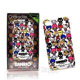 【日本國內限定SANRIO全明星博覽會】iPhone4G手機背蓋/保護瞉