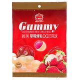 義美QQ巧克球-草莓煉乳口味200g