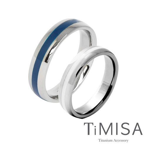 【TiMISA】真愛宣言 純鈦對戒(共3色)