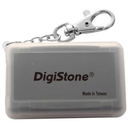 DigiStone 防震多 記憶卡收納盒 4片裝 - 霧透黑色1個
