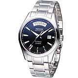 EPOS 世紀品味 紳士機械錶3410.142.20.15.30黑色39mm