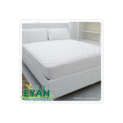 【超值買一送一】EYAH宜雅- 單人鬆緊帶式防水保潔墊3.5尺x2+防水枕頭保潔墊x2