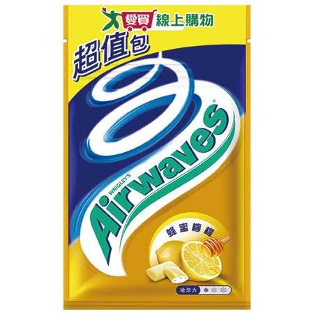 Airwaves無糖口香糖超值包-蜂蜜檸檬62g