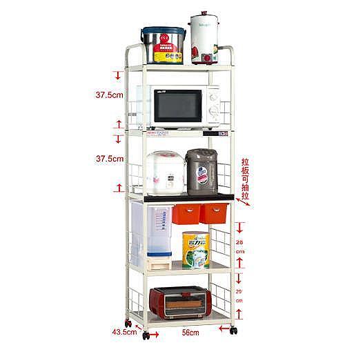 A-11520R定量儲米器5層電器架