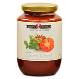 美味大師義大利麵醬-蕃茄羅勒470G/瓶