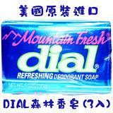 美國DIAL森林香皂5oz/141g(3入)