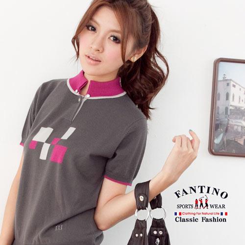【FANTINO】可水洗羊毛,冬暖夏涼針織羊毛衫(灰)967308