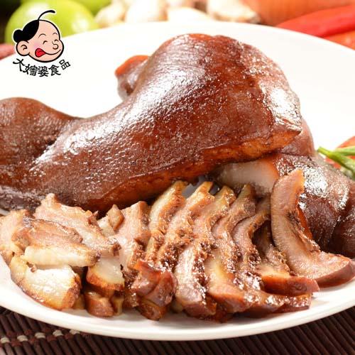 《大嬸婆》蔬果滷味-豬頭皮(200g)-任選