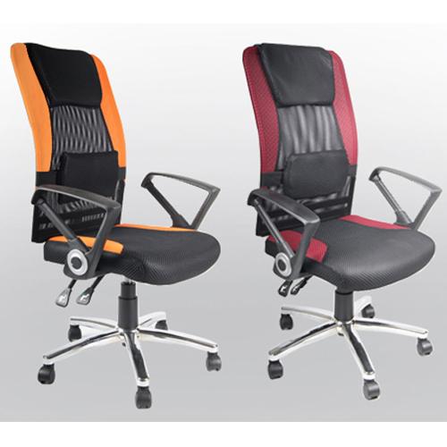 免組裝+頭枕+腰墊+工學座椅升級【新超值】高背人體工學辦公椅