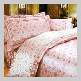 五花瓣葉.100%超柔細纖維.標準雙人床罩組全套.全程臺灣製造