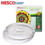 NESCO 食物乾燥機 專用托盤 二入組 TR-2