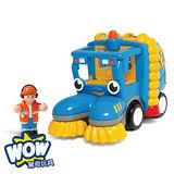 英國【WOW Toys 驚奇玩具】清潔掃街車 史丹力