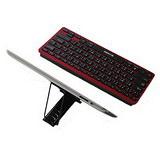 【LEXKING】iPad/iPad2 專用藍芽精靈3.0小鍵盤+支架(BT-7128)
