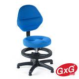 吉加吉 兒童成長椅 TW-009 藍色 (固定款) 3D立體(小顆)坐墊 學齡電腦椅 調整坐姿