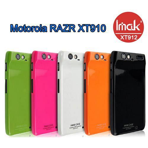 IMAK Motorola RAZR XT910 專用超薄冰激凌保護殼