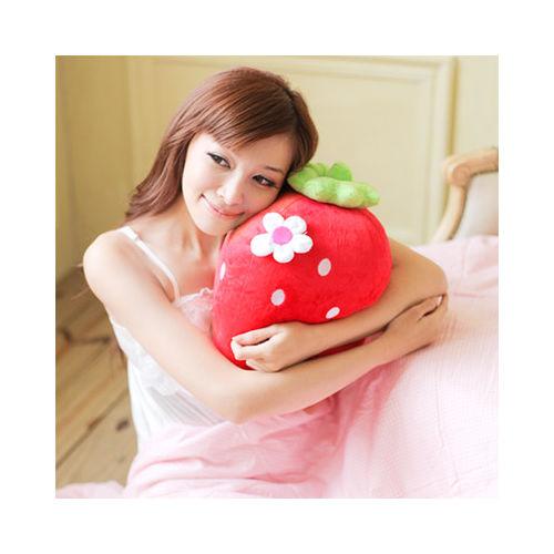義大利Fancy Belle《甜心草莓抱枕》--一入