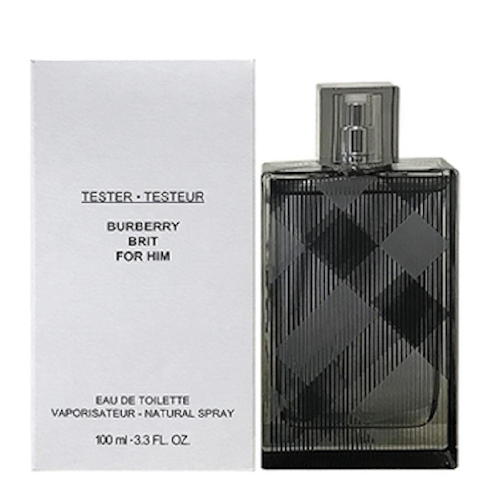 BURBERRY BRIT 風格男香 100ml-Tester包裝