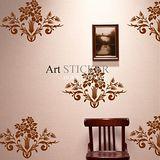 Art STICKER璧貼 。 Flower pattern - A (F020)