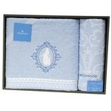 WEDGWOOD童話魔鏡公主浴巾毛巾禮盒