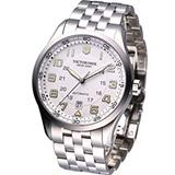 Victorinox Airboss 瑞士維氏 飛行家系列腕錶-(VISA-241506)白面