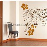 Art STICKER壁貼 。 Flora (F054)