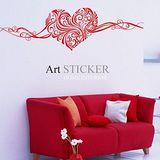 Art STICKER壁貼 。 LOVE愛意 (H003)