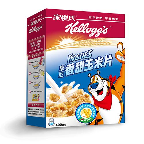 ★超值2件組★家樂氏東尼香甜玉米片400g